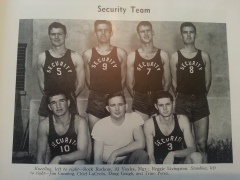 Ramey AFB Basketball Team