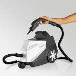 The Reliable BRIO EB250 Steam Cleaner with Floor Attachments