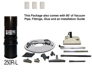 RhinoVac Central Vacuum System Package Solutions