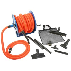Imperium 92057 Premium Garage Attachment Set With Hose Reel