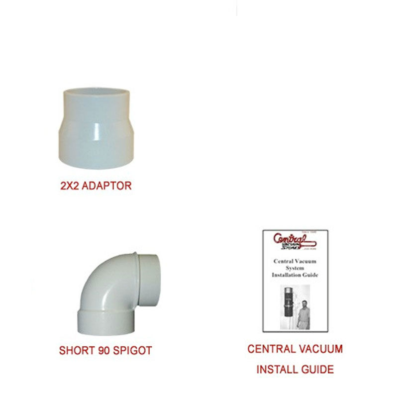 0081673 2x2 Pre Packaged Electric Inlet Kit For Sch 40